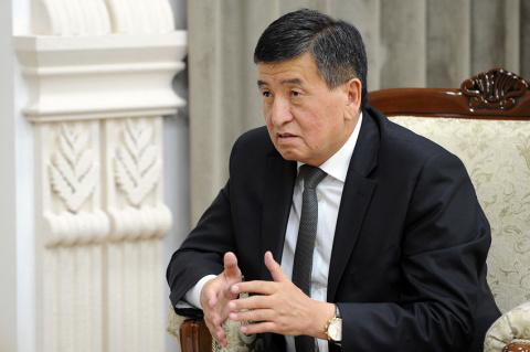 Жээнбеков: Граждане Киргизии чувствуют пользу от вступления в ЕАЭС
