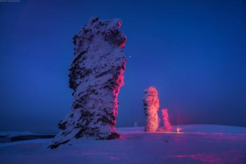 Каменные гиганты и загадочные долины зимнего Урала