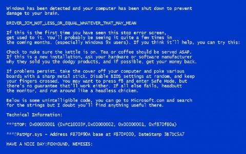 Как узнать причину синего экрана смерти Windows (BSoD)