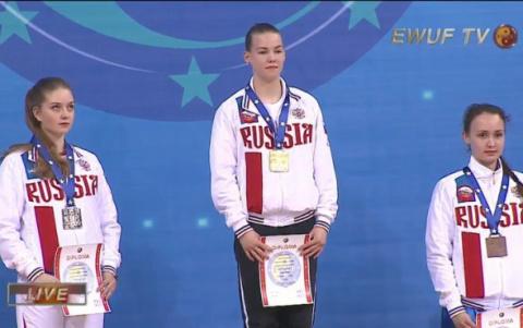 Карельские спортсмены взяли 12 медалей на Чемпионате Европы по ушу