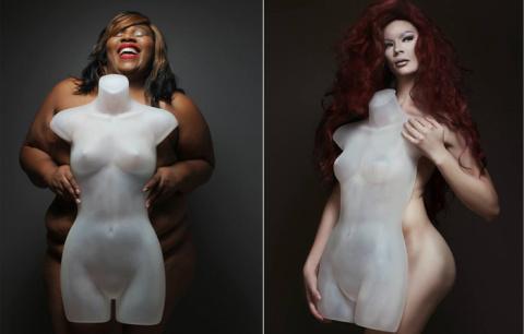 «Серия с манекеном»: женщины…