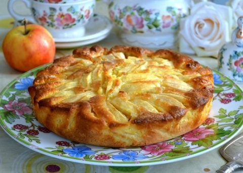 Вкусный деревенский пирог