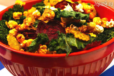 Салат из свеклы и капусты ка…