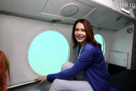 Ирина Безрукова стала подводником
