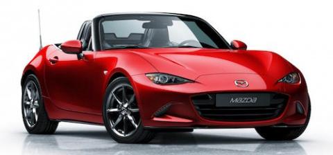Новое поколение родстера Mazda MX-5 окажется легче за счет карбона