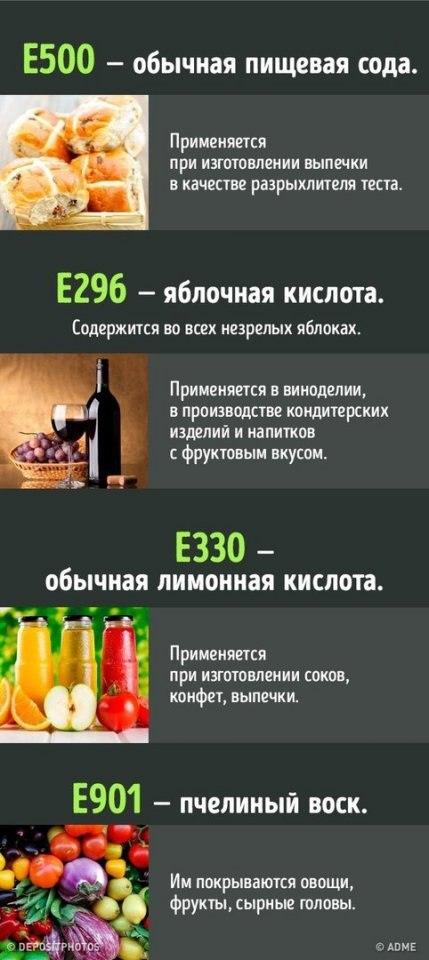 Что нужно знать о пищевых до…
