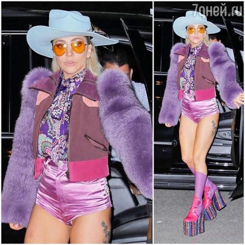 Леди Гага пристрастилась к шляпам