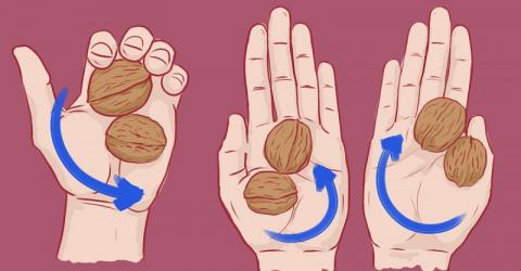 Когда вы узнаете, зачем нужны 2 ореха в руке, тотчас же отправитесь за ними!