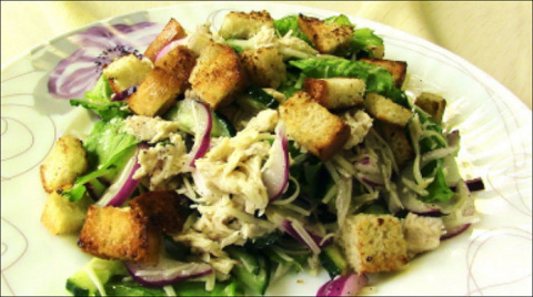 Салат «Хрустящий»: супер сал…