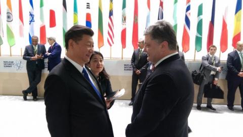 Порошенко ищет помощи в Китае
