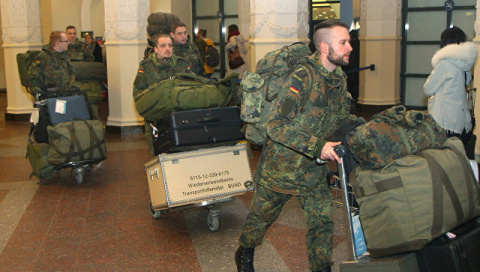 Spiegel: Германия ввела свои войска в Литву
