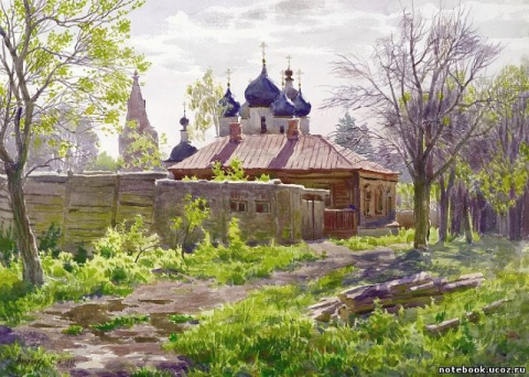 Акварельный мир Сергея Андрияки