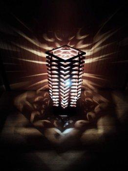 Самодельная лампа «Небоскреб»