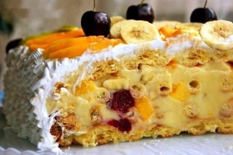 Невероятный торт тропиканка.…