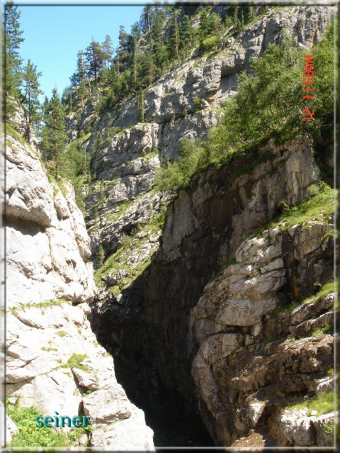 Голубой каньон.