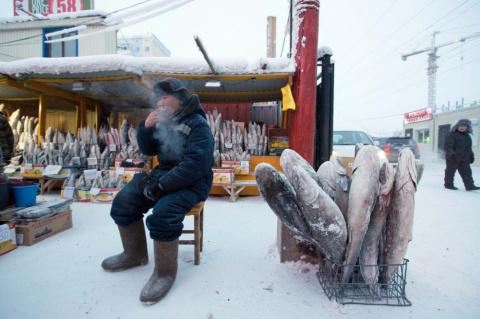 10 леденящих фотографий Якут…