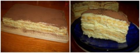 Торт «А-ля тирамису» — намно…