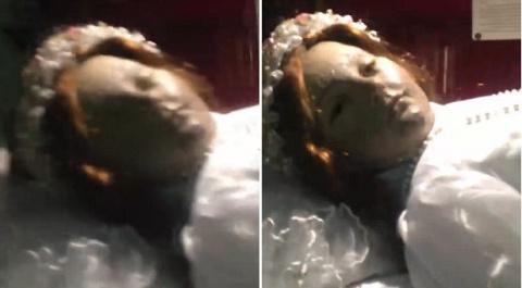 Мумия мексиканской девочки, умершей 300 лет назад, открыла глаза