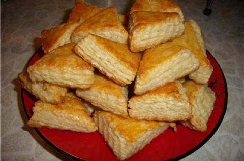 Вкусное печенье на кефире - это несложно и очень быстро!
