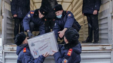 Московские кадеты помогают д…