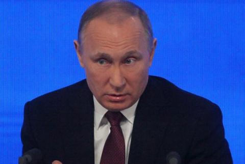 Путин в поздравительной телеграмме устроил порку западным СМИ