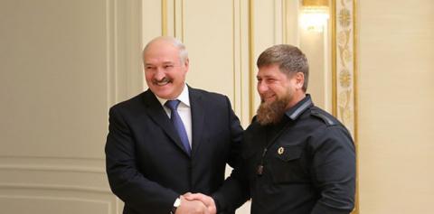 Кадыров приехал к Лукашенко
