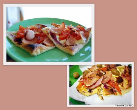 Горячие сандвичи на завтрак. Фото-рецепт. Татьяна (с) SLO