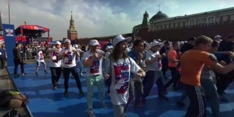 На Красной площади прошла са…