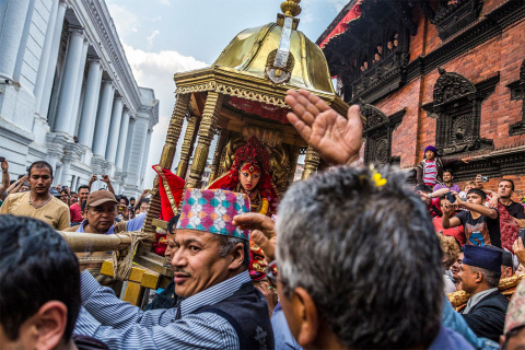 Живые богини Непала