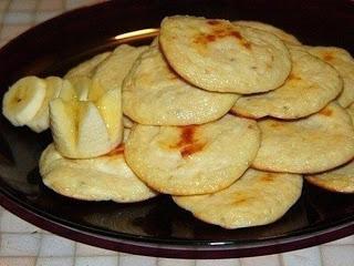 Творожно-банановые лепешки