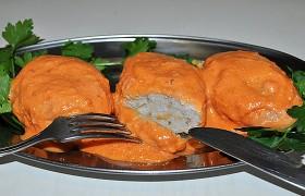 Тушеные рыбные котлеты без о…