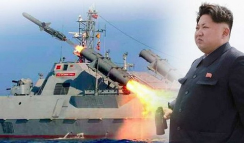 КНДР наносит ракетный удар п…