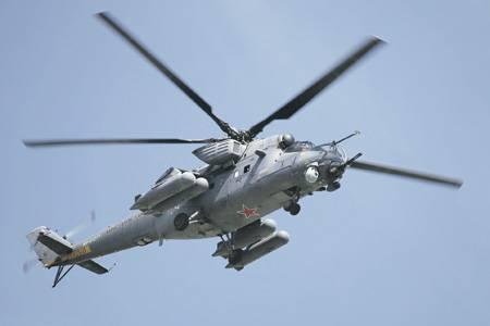 Вертолеты остаются на полях сражений