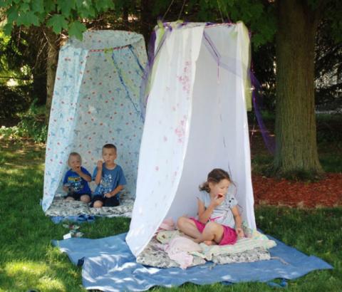 20 недорогих способов занять ребёнка летом