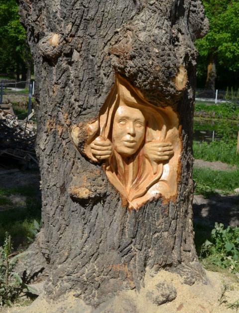Деревянные чудеса бензопилой