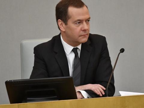 Медведев: На турнике в школе…