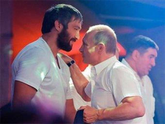 Овечкин создает движение в поддержку президента Putin Team