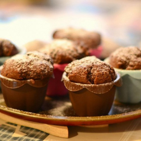 Ароматные домашние кексы с к…