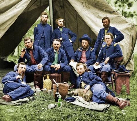 Гражданская война в США в цвете