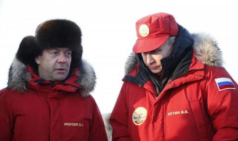 Тучи над Арктикой ходят