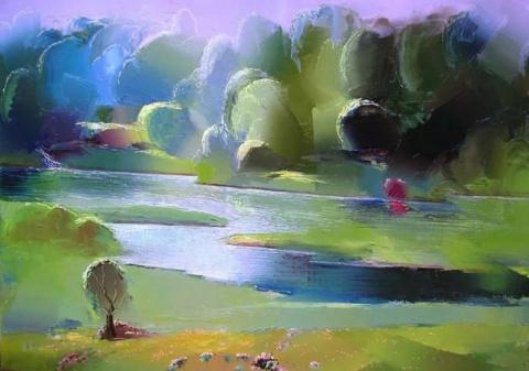Художник Гиви Сипрошвили. Состояние моей души