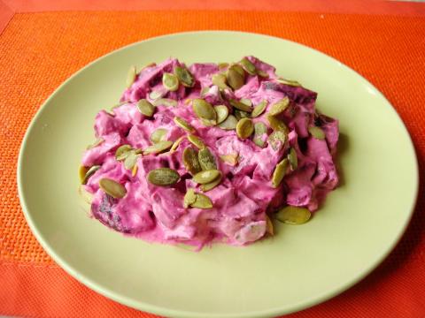 Свекольный салат с тыквенным…