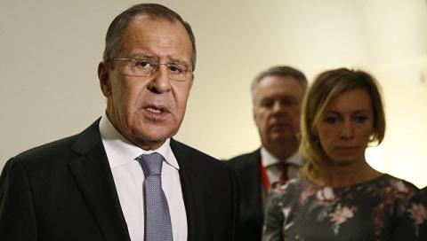 """Лавров прокомментировал слова Тиллерсона о """"сделке века"""" на Ближнем Востоке"""