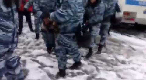 Зачатки Майдана, были пресечены в Москве