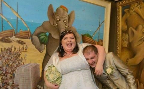 Приколы на свадьбе случаются…