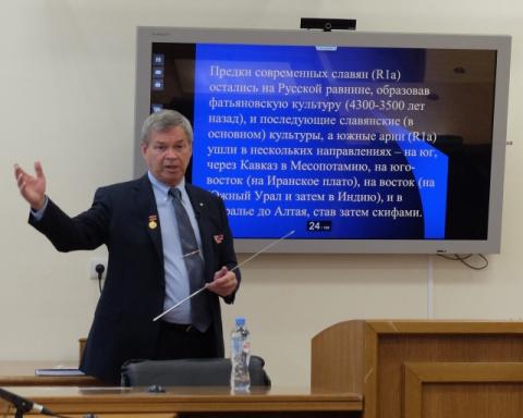 А.А. Клёсов: Конфликт России и Запада – продолжение битвы цивилизаций ариев и эрбинов