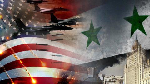 Ракетный удар США по Сирии п…