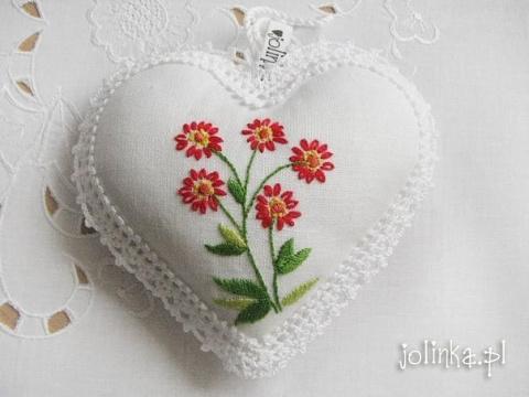 Текстильные сердечки. Идеи д…