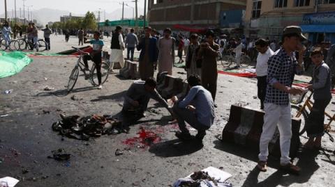 Врезультате взрыва вКабуле…