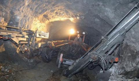 На одной из шахт Донбасса пр…